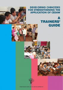 PLD-CEDAW-Trainers Guide cover
